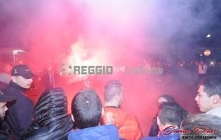 VIDEO: I tifosi cantano l'inno durante la manifestazione Cuore Amaranto