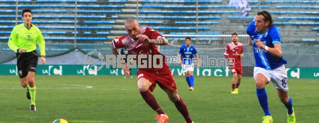 LIVE: REGGINA-MATERA  2-3, amaranto nuovamente sconfitti