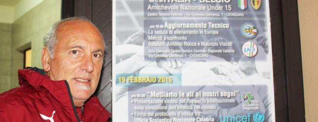 """Under 15, Rocca: """"Gruppo di qualità, spazio agli italiani naturalizzati"""""""