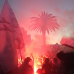 Festa ultras Reggina derby Messina spareggio