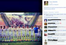 Come celebrano il trionfo nel derby i calciatori della Reggina? Ecco le FOTO