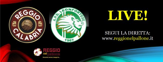 LIVE! Reggio Calabria-Leonfortese 0-1, Lentini. E' finita