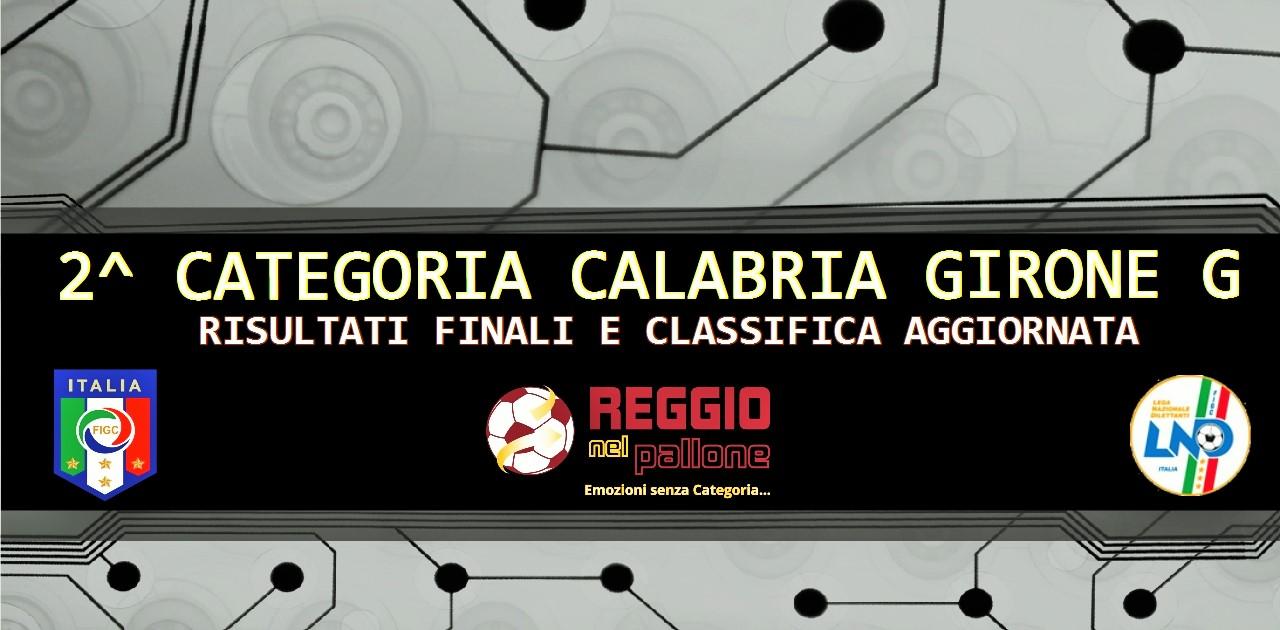2 Seconda Categoria Girone G FINALI