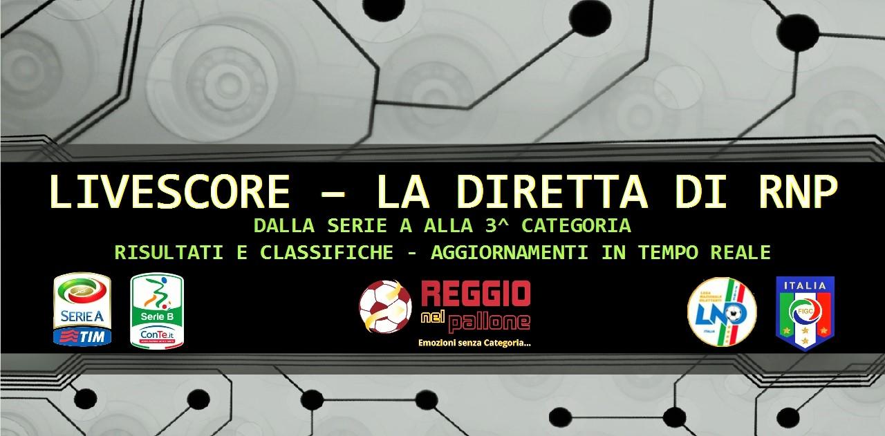 Diretta Gol Rnp Dalla Serie A Ai Dilettanti Risultati E Classifiche Live Reggionelpallone