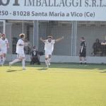 Frattese Reggio Calabria l'esultanza di Arena