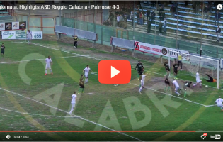 [VIDEO] Reggio Calabria-Palmese 4-3, gli HIGHLIGHTS: batticuore amaranto!
