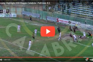 [VIDEO] Reggio Calabria-Palmese 4-3, gli HIGHLIGHTS: batticuore amaranto!