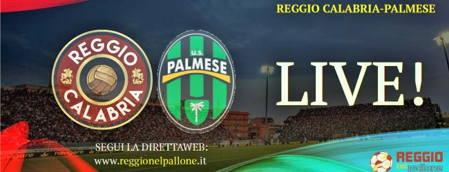 LIVE! REGGIO CALABRIA-PALMESE 4-3, E' FINITA!!