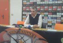 """[AUDIO] Viola, coach Frates:""""Delusione, vittoria ci avrebbe dato grande slancio"""""""