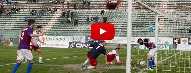 Reggio Calabria-Scordia 0-1, gli HIGHLIGHTS: due legni, rigore negato, gol fantasma e umiliazione epocale