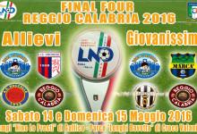 Campionati Regionali Giovanili, a Reggio Calabria le final four Allievi e Giovanissimi