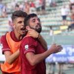 Reggina-Messina Porcino maesano esultanze