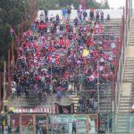 Reggina-Cosenza 2016/2017: ultras rossoblu