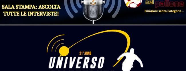 [AUDIO] La SALA STAMPA del calcio calabrese: le interviste di Universo Dilettanti