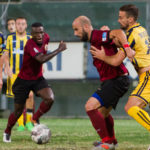 Reggina-Juve Stabia 10/10/16 Coralli serve l'assist a Bangu