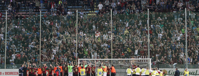 [FOTOGALLERY] Reggina-Juve Stabia 1-0, le immagini della notte del Granillo