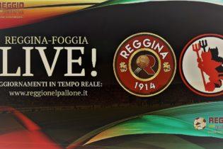 LIVE! REGGINA-FOGGIA