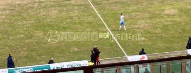 [VIDEO&FOTO] Reggina-Akragas, Coralli raddoppia e… abbraccia Zeman