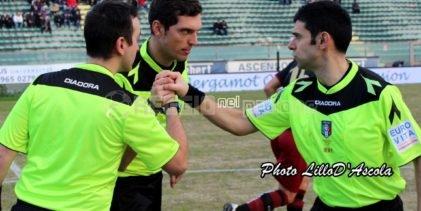 Serie C girone C, gli arbitri della 37esima giornata