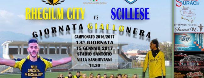 Rhegium City-Scillese, indetta la giornata giallonera