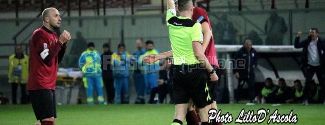 Giudice Sportivo: Reggina-Casertana senza squalificati