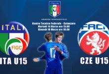 Nazionale Under 15: a Catanzaro doppia amichevole contro la Repubblica Ceca