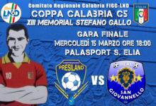 "Coppa Calabria calcio a 5 ""Memorial Stefano Gallo"": ecco le finaliste"