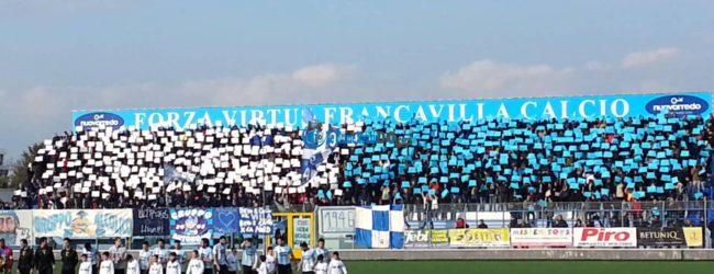 Virtus Francavilla, la vittoria manca da troppo tempo…
