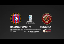 LIVE! Racing Fondi-Reggina 0-1, FINALE!