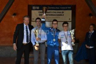 Il reggino D. Fabbricatore è il nuovo campione italiano assoluto di dama internazionale