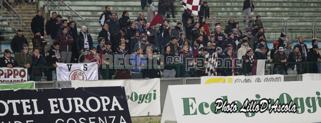 Catania-Reggina, trasferta solo per i titolari della TDT
