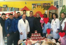 Ravagnese, doni natalizi ai bambini dell'Ospedale Riuniti