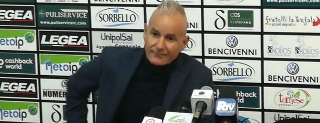 Reggina, mercoledì mister Drago in conferenza stampa