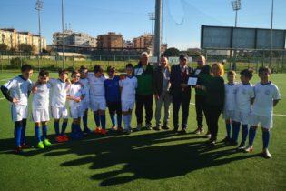 Asd Stadio, Franco Iacopino incontra la scuola calcio reggina