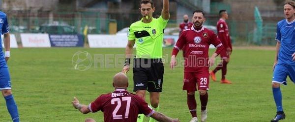 Giudice Sportivo, niente Reggina-Catania per Baclet