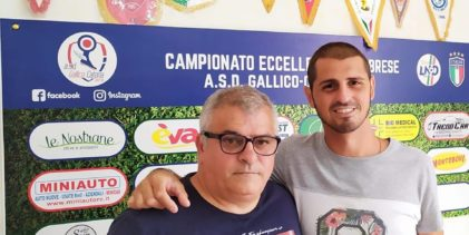 Gallico Catona, importante new entry nello staff tecnico