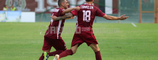Classifica marcatori Reggina: Corazza si prende il primo posto