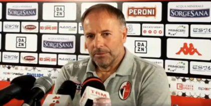 """Bari, Cornacchini: """"Arbitraggio all'inglese, la Reggina può arrivare fino in fondo"""""""