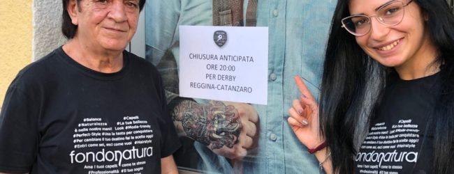 """[FOTO] """"Chiuso per derby"""", Reggio è di nuovo pazza della sua Reggina…"""