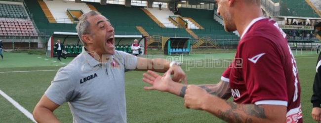 """Reggina, Toscano: """"Questa squadra ha un cuore grandissimo"""""""