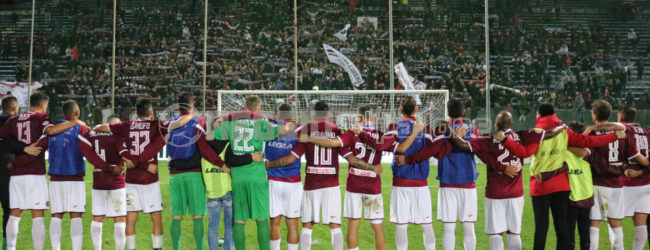 [FOTO] La Reggina saluta la Coppa, sfoglia l'album della gara col Potenza