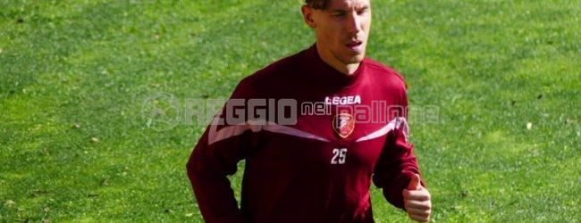 Reggina, Sant'Agata Live: assente Corazza