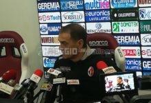 """Bari, Vivarini: """"Poche occasioni per entrambe, noi non molliamo mai"""""""