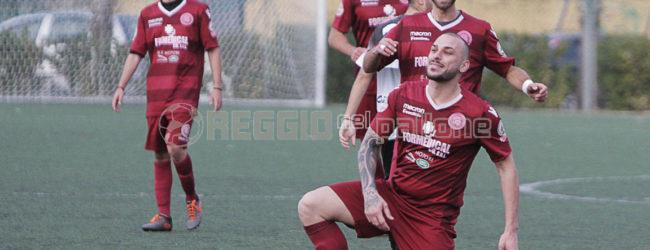 Cucinotti, primo gol con la ReggioMed ed una dedica speciale verso il cielo