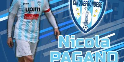 """Cinquefrondese, confermato anche Pagano: """"Verso nuovi obiettivi con questa maglia"""""""