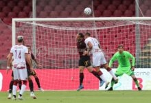 Salernitana-Reggina, il tabellino: botta e risposta in 2′