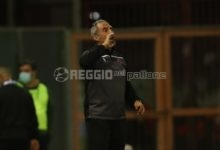 """Reggina, Toscano: """"Siamo in credito con la fortuna, il loro portiere il migliore in campo"""""""