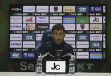 """Reggina-Cosenza, Occhiuzzi in sala stampa: """"Soddisfatto della voglia di lottare della squadra"""""""