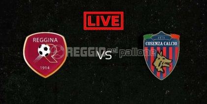 LIVE! Reggina-Cosenza su RNP