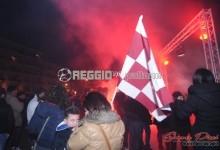 Batte forte il CUORE AMARANTO: la tifoseria colora la notte di Reggio Calabria (FOTO E VIDEO)